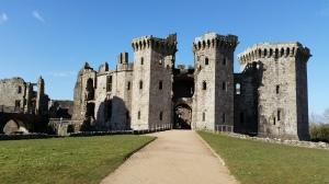 Raglan Castle Main Gate