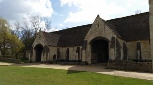 Tithe barn exterior