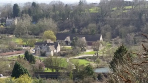 Tithe Barn from St Mary Tory