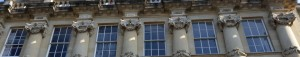 From the main entrance of the Grosvenor Place terraces near us on the approach to Bath along the London Road.