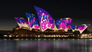 Vivid Opera House Sails