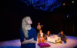 """Olivia Vinall as Hilary in Stoppard's """"The Hard Problem"""""""