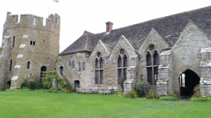 Stokesay Castle showing the North Tower