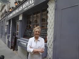 This is the lady who spoke to us, the chef Carol Sinclair