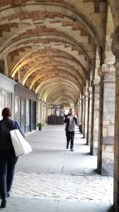 Arcade in Places des Vosges