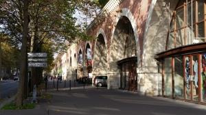 Gallery workshops under the Promenade Plantée