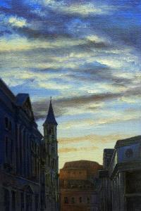 Evening Sky, Upper Borough Walls