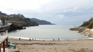 The Beach at Combe Martin