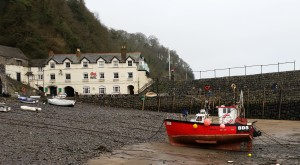 The Red Lion at Clovelly